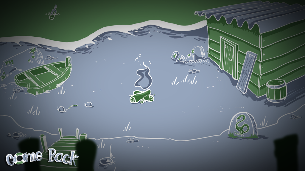 Screenshot 4 - Come Back Game